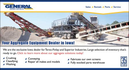 General Equipment & Supplies Inc | Your Aggregate Equipment Dealer in Iowa