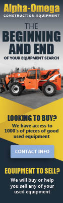 Alpha Omega Construction Equipment | The Beginning and End of your equipment search | We have access to 1000's of piece of used equipment.