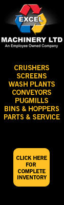 Excel Machinery Ltd | Crushers, Screens, Wash Plants, Conveyors, Pugmills, Bins & Hoppers, Parts & Service