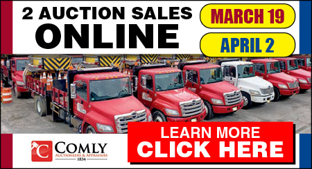 Comly Auctioneers & Appraisers - 2 Online Auction Sales