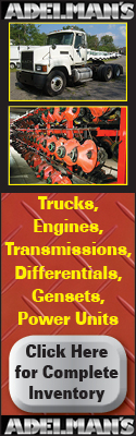 Adelmans Truck Parts | Trucks, Engines, Transmissions, Differentials, Gensets, Power Units | Click Here for Complete Inventory