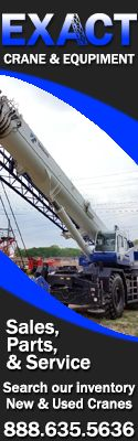 Exact Crane & Equipment | Sales, Parts, & Service | Search Our Inventory New & Used Cranes