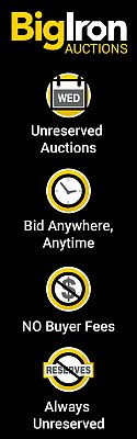 BigIron Auctions | Unreserved Auctions | Bid Anywhere, Anytime | No Buyer Fees | Always Unreserved