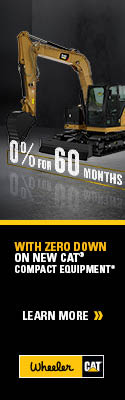 Wheeler CAT | Get 0% For 60 Months on Select New CAT Compact Equipment