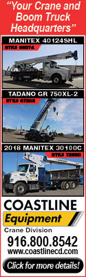 Coastline Equipment Crane Division | Your Crane and Boom Truck Headquarters