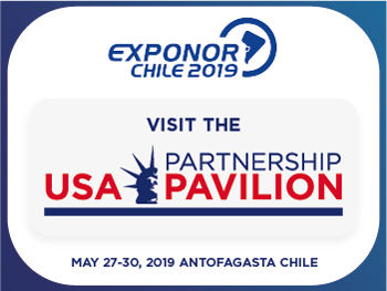 Exponor Chile 2019 | Visit The Partnership USA Pavilion | May 27-30, 2019 | Antofagasta Chile