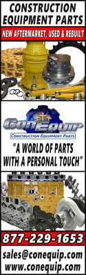 Construction Equipment Parts | New Aftermarket, Used & Rebuilt | A World of Parts With a Personal Touch | 877-229-1653 | sales@conequip.com