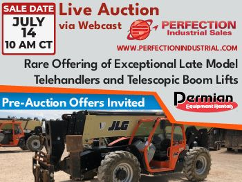Perfection Industrial Sales - Live Auction July 14 - 10 AM CT
